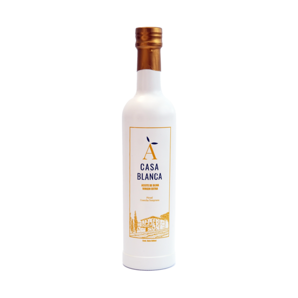 Botella Blanca AOVE 1