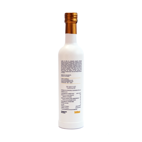 Botella Blanca AOVE 2
